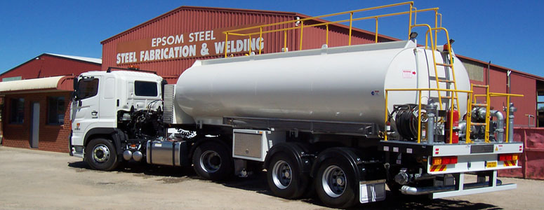 Epsom Steel Bendigo Water Trucks